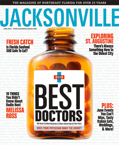 Jacksonville Magazine Cover June 2010